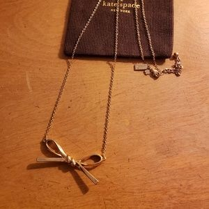Kate Spade Skinny Mini Bow Necklace